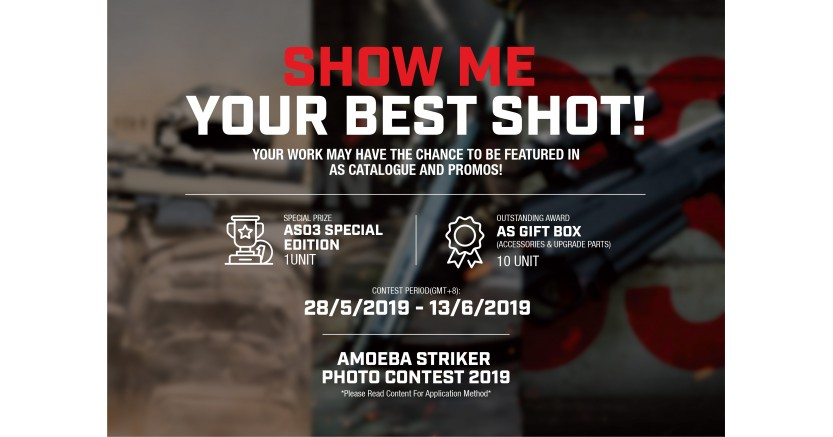 [Finsihed]AMOEBA STRIKER Photo contest 2019 (EN)