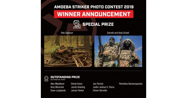 AMOEBA STRIKER Photo Contest Winner Announcement