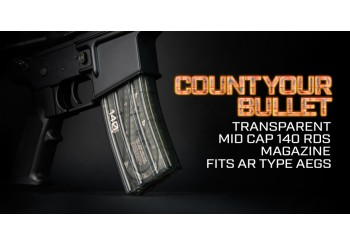 Transparent AR Magazine